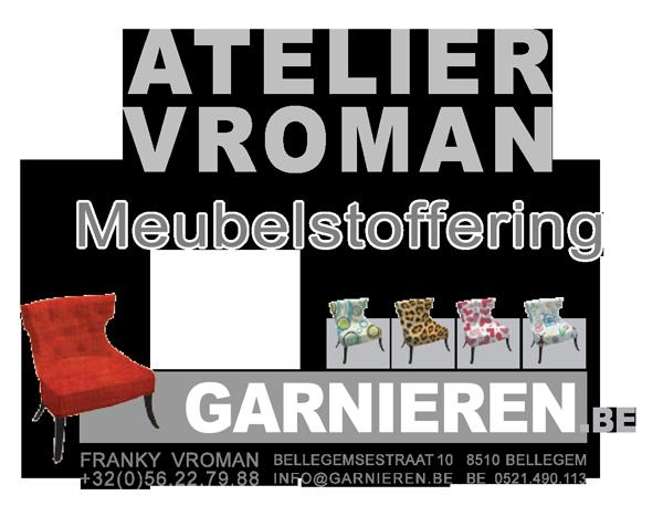 Atelier Vroman | Meubelstoffering | Bellegemsestraat 10, Bellegem